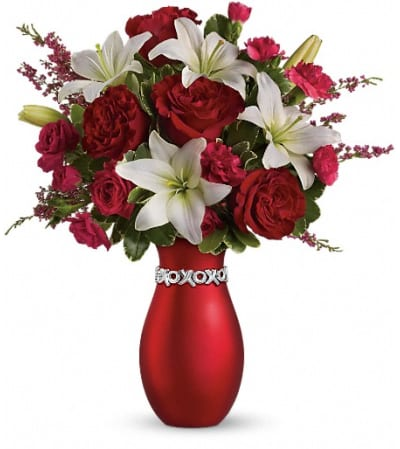 Teleflora's XOXO Bouquet with Red Roses
