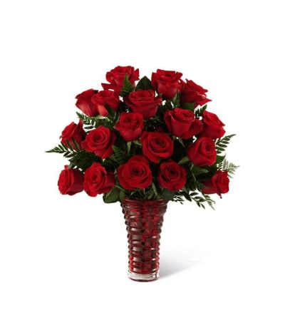 The FTD® In Love with Red Roses™ Bouquet 2016