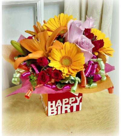 Birthday Gift Bouquet