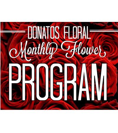 12 Month Floral Program