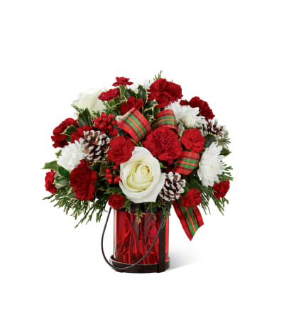The FTD® Holiday Wishes™ Bouquet by Better Homes and Gardens 2015