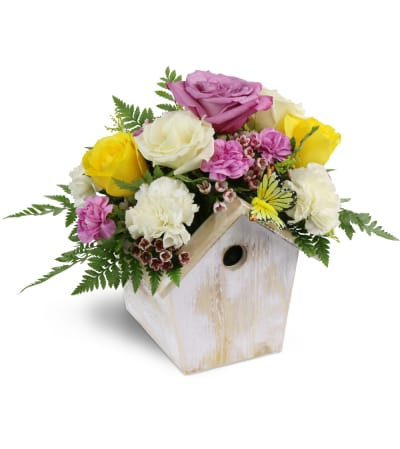 Birdhouse of Blooms