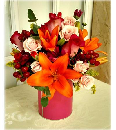 Burst of Color Bouquet