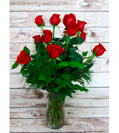 Simply Red Roses