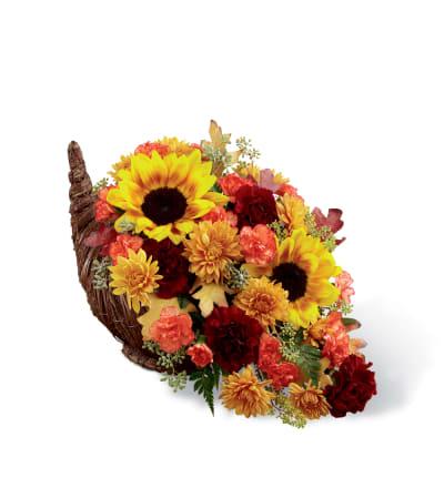 The FTD® Fall Harvest™ Cornucopia 2014