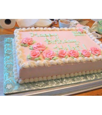 Large Traditional Cake