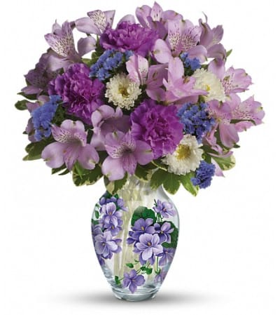 Teleflora's Sweet Violet Bouquet