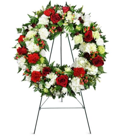Passionate Faith Sympathy Wreath™