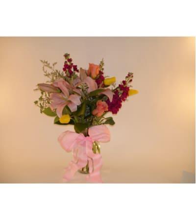 Medium Mixed Spring Vase