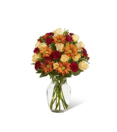The FTD® Golden Autumn™ Bouquet