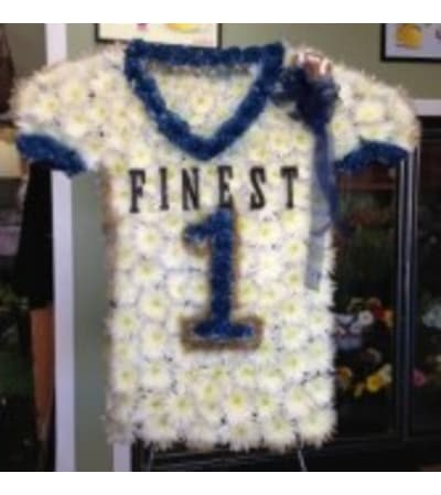 Custom Football Jersey Sympathy Piece