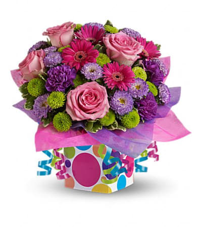 Confetti Present Bouquet