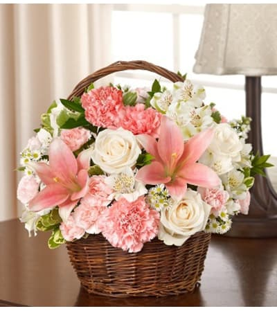 Peace, Prayers & Blessings - Pink and White