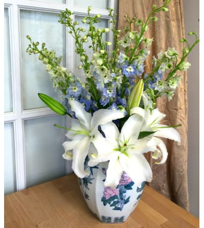 Powder Blue Bouquet