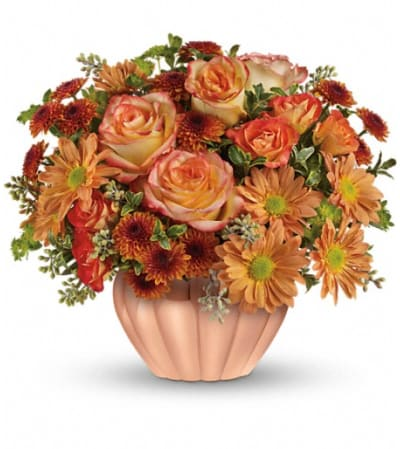 Teleflora's Joyful Hearth Bouquet