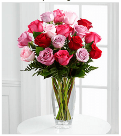Captivating Color™ Rose Bouquet by Vera