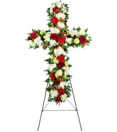 Love and Prayers Sympathy Cross™