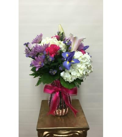 Bashful Bouquet