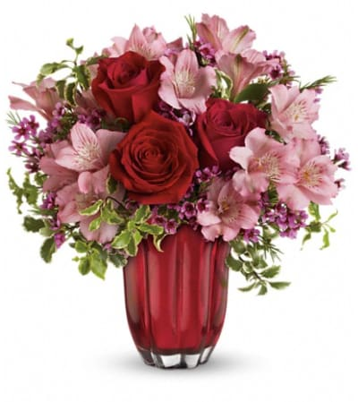 Heart's Treasure Bouquet by Teleflora