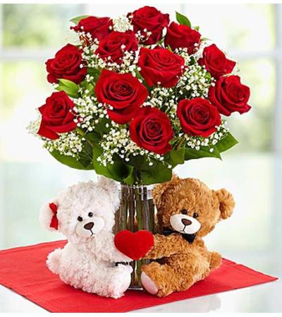 Abundant Love™ With Teddy Bear Couple