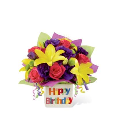 FTD Happy Birthday Bouquet