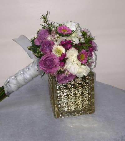 Communion Bouquet Lavender Dreams