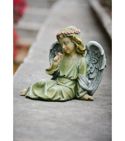 Sitting Girl Angel