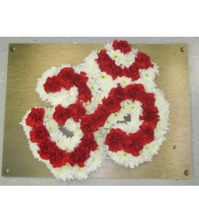 OM a hindu religious symbol Small