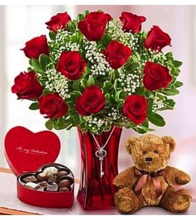 Abundant Love™  - Bear, Chocolate, & Key
