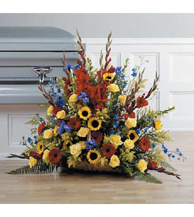 Bright & Beautiful Tribute Bouquet
