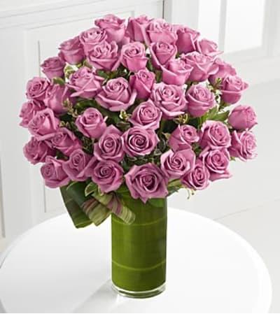 Purple Luxury Rose Bouquet