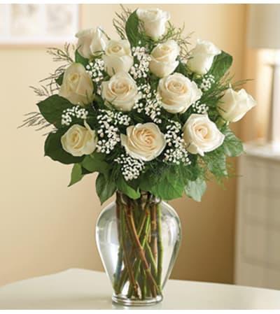 Rose Elegance™ Premium White Roses