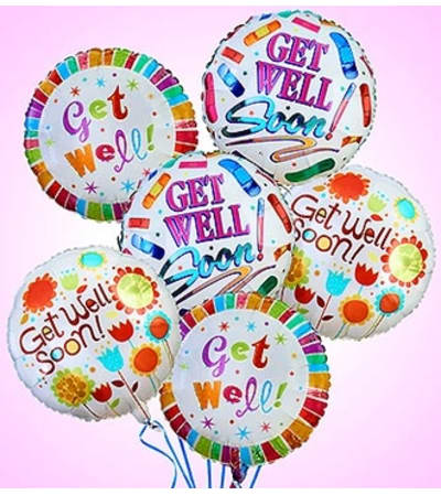 Air-Rangement® - Get Well Mylar Balloons
