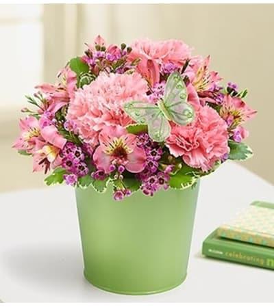 Garden Bouquet in a Planter