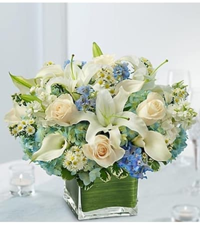 Blue and White Centerpiece Package