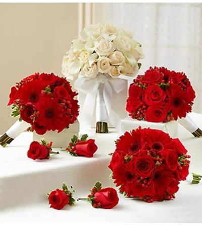 Bridal Party Personal Package Red