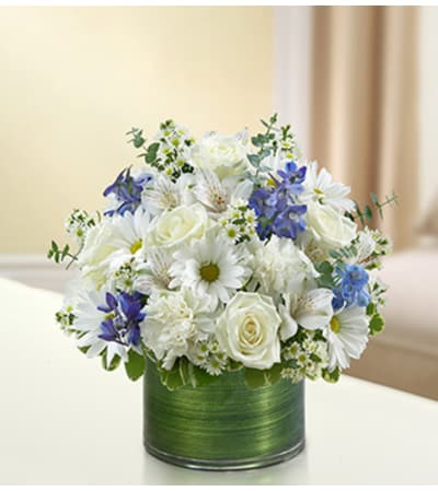 Cherished Memories - Blue and White