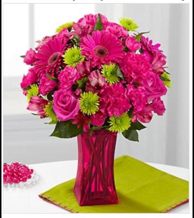 The Raspberry Sensation Bouquet