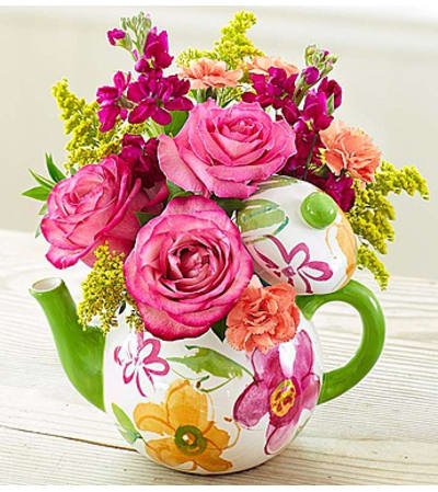 Teapot Full of Blooms™ 2015