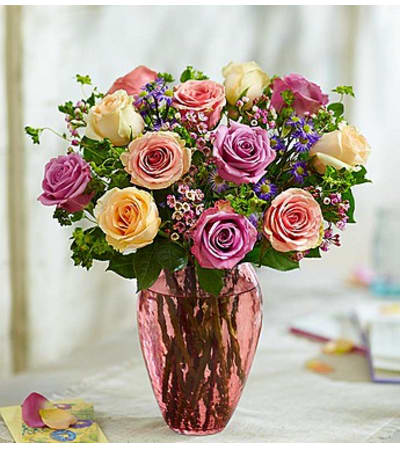 "Rose Lovers Bouquetâ""¢ Long Stem Assorted Roses"
