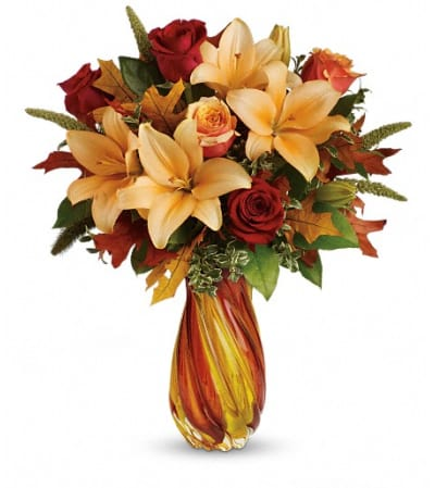 Teleflora's Treasures of Fall Bouquet