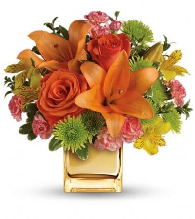 Teleflora's Tropical Punch Bouquet