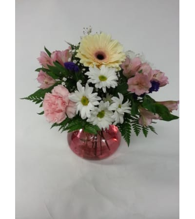 Pink Rosy Posy