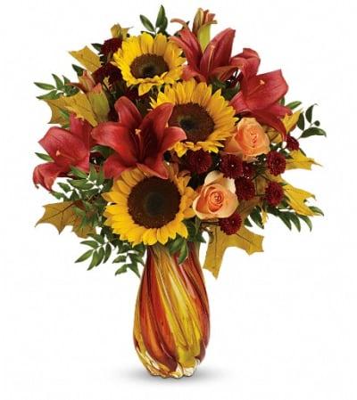 Teleflora's Autumn Beauty Bouquet