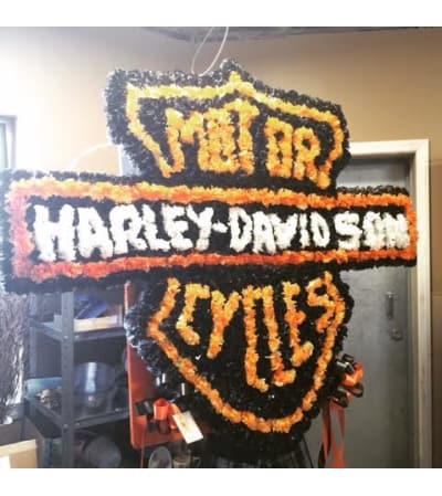 Funeral Custom Harley Davidson Sympathy