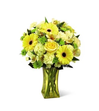 The FTD® Lemon Groove Bouquet