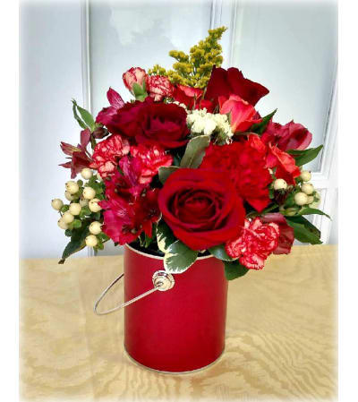 Surprise! Bouquet with Roses