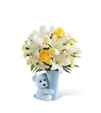 The FTD® Baby Boy Big Hug® Bouquet