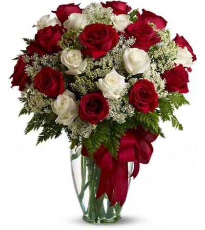Love's Divine Bouquet - Long Stemmed Roses