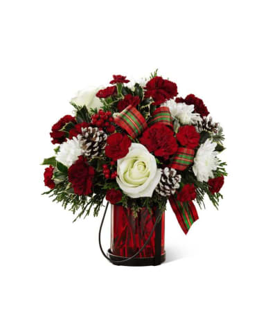 The FTD® Holiday Wishes™ Bouquet by Better Homes and Gardens 2016